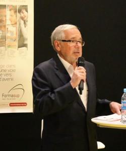 François BOURGIN - Président de FormasupDiscours introductifs : François BOURGIN - Président de Formasup