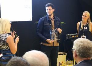 """Aurélien DE NUNZIOPrix Spécial du Jury """"Profil de l'Entrepreneur"""" : Aurélien DE NUNZIO"""