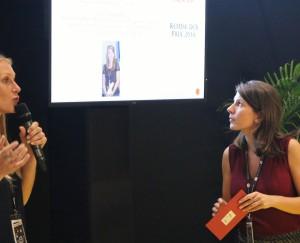"""Claire Jolimont, CEO et fondatrice la société PingflowPrice """"Young Entrepreneur of the Future"""" - G20 YEA Beijing 2016Lauréate du Concours Créasup 2012"""