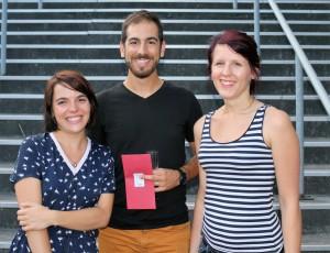 Félicitations à l'équipe de Paul Florisse apprenti Infocom - Lille 3, Hélène Martin de l'Université Lille 3 et Justine Trichot étudiante à l'Université d'Artois pour avoir remporté le Premier Prix CREASUP 2016 !